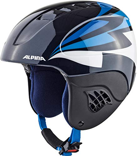 ALPINA CARAT Skihelm, Kinder, nightblue, 54-58