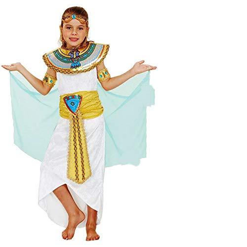 thematys Cleopatra Aphrodite Göttin Kostüm-Set für Kinder - perfekt für Fasching, Karneval & Cosplay - Verschiedene Größen (XL)