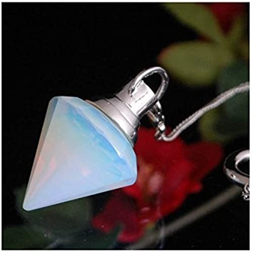(2way and pendant pendulum) Jewel cut 2way Obsidian Opal Pendulum voluminous (japan import) by purifystone