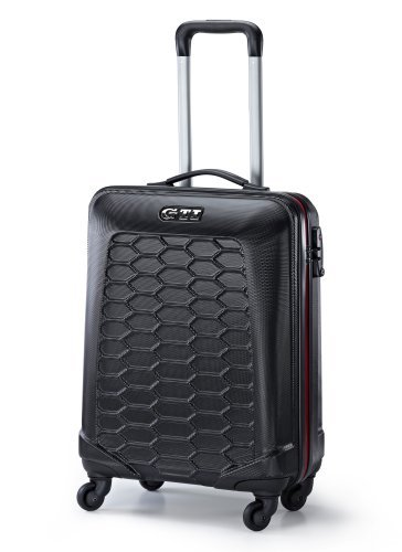 Rolling Trolley koffer, Cabin Grootte (37x55x20cm), GTI Collectie