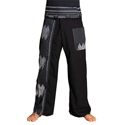 PANASIAM Fisherman Pants Beam, Black, XL