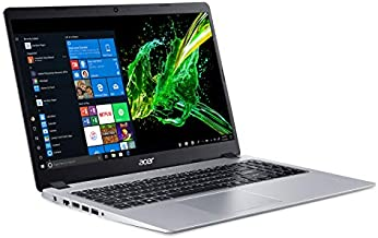 Acer Aspire 5 Slim Laptop, 15.6 inches Full HD IPS Display, AMD Ryzen 3 3200U, Vega 3 Graphics, 4GB DDR4, 128GB SSD, Backlit Keyboard, Windows 10 in S Mode, A515-43-R19L,Black