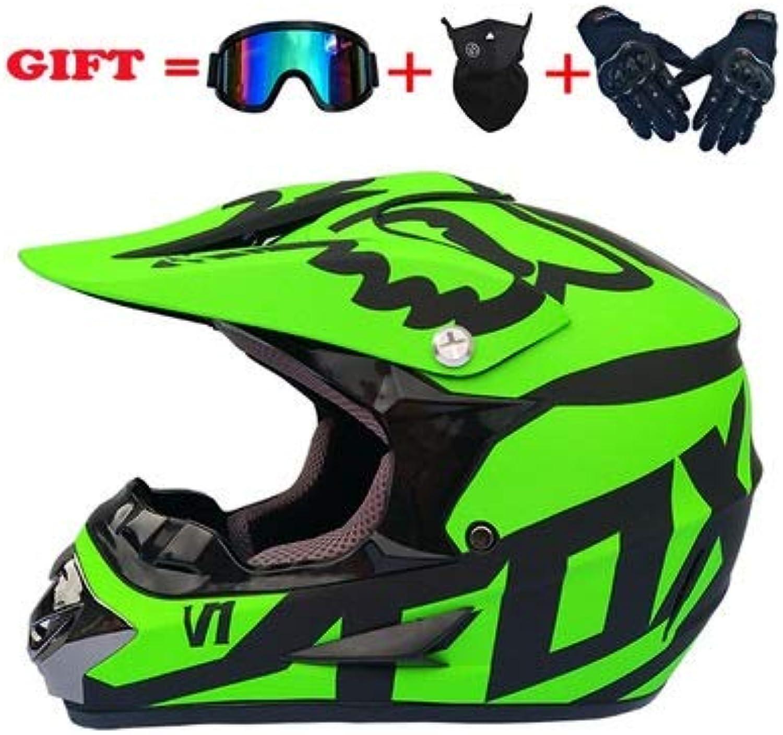Lanbinxiang@ Mountain Bike Full Helmet Riding Helmet Four Seasons Motorcycle CrossCountry Helmet Predection