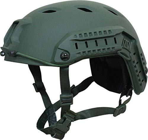 Mil-Tec US Helm Paratrooper Fast W/Rail oliv