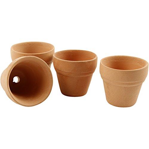 Creativ Vaso per fiori, diametro 3,4 cm, 48 pezzi