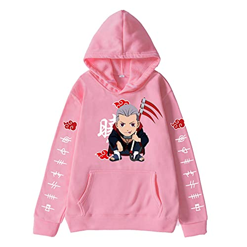 Narutos Hoodies Anime Men Pullover Vintage Sweater Casual Sweater Unisex Cool Streetwear Sudadera con Capucha