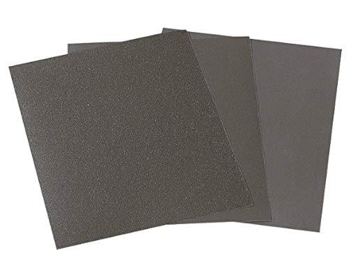 WOLFCRAFT 2874000 pliego papel de lija seco/al agua, grano 400, sueltos PACK 1