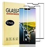 Lixuve Protector de Pantalla para Huawei Mate 30 Pro, 2 Unidades Cristal Vidrio Templado Película Protectora, Dureza 9H, Anti-Huellas, Sin Burbujas, Anti-Arañazos