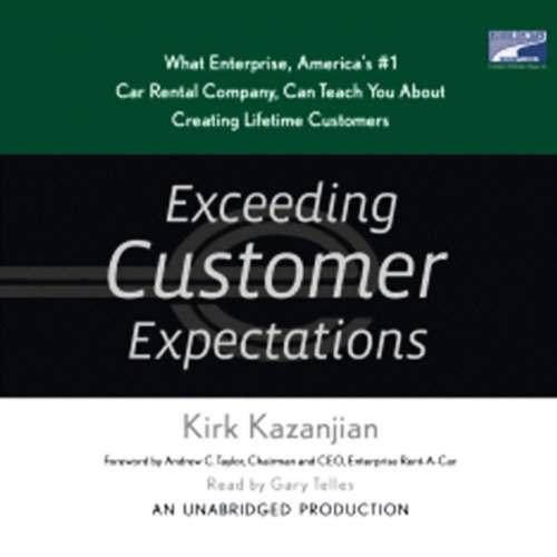 Exceeding Customer Expectations audiobook cover art