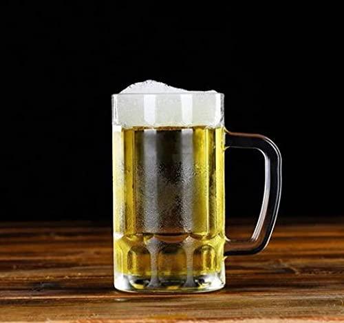 Banda De Vidrio Creativa Para Poner La Copa De Vino Copa De Cerveza De Gran Tamaño Barra De Corbata Taza De Cerveza Taza De Cerveza De Barril Taza De Vidrio Grueso Taza De Té