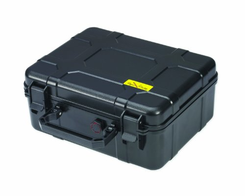 Cigar Caddy 40, 40-Cigar Waterproof Travel Humidor, Super Strong...