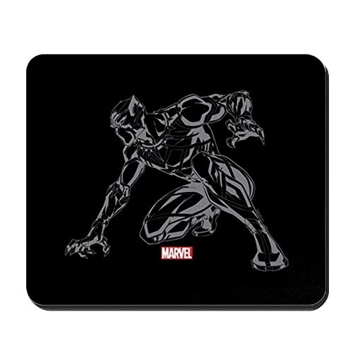 Black Panther Claw rutschfestes Gummi-Mousepad, Gaming-Mauspad