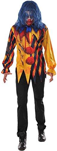 Rubie's Men's The Killer Clown Costume, As Shown, X-Large