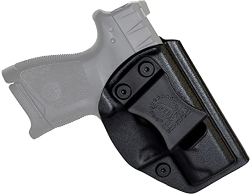 CYA Supply Co. Base Inside Waistband Holster (Black) Concealed Carry IWB Veteran Owned Company Fits