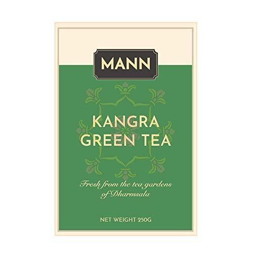 Mann Tea Kangra Green Tea Loose Leaf Himalayan Whole Leaf Tea, 250 g