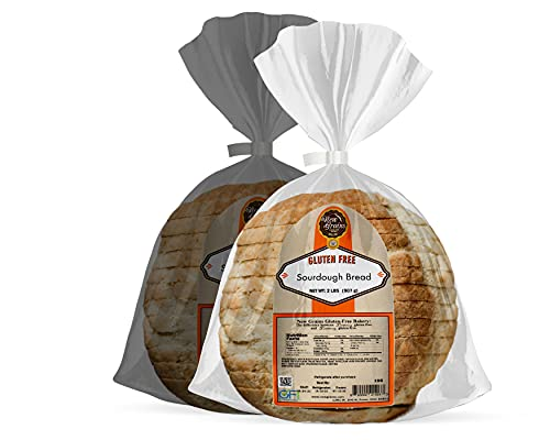 New Grains Gluten-Free Sourdough (2-Pack)Gluten Free, NON GMO, All Natural ingredients, Delicious and Healthy.
