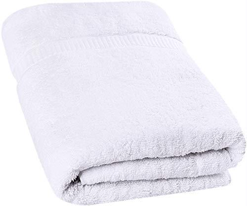 Utopia Towels - Toalla de baño Grande, Paquete de 1 (90 x 180 cm, Blanco) ✅