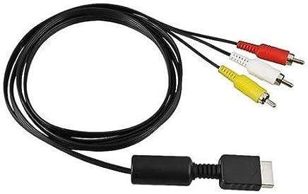 PS2/PS3対応 AVコンポジットケーブル 約175cm