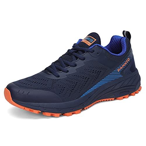 Dannto Zapatillas de correr para hombre y mujer, zapatillas de deporte para calle., color Azul, talla 41 EU