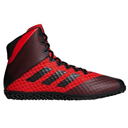 adidas Mat Wizard 4 Herren Wrestling Boots Schuhe (39 EU, Rot/Schwarz)