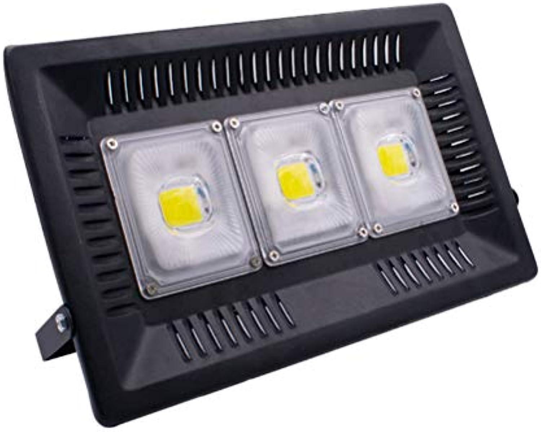 Uonlytech 150 Watt LED Flutlicht Wasserdichte Outdoor Sicherheit Licht Wandleuchte für Yard Garage Warehouse Parkplatz Garten Weies Licht