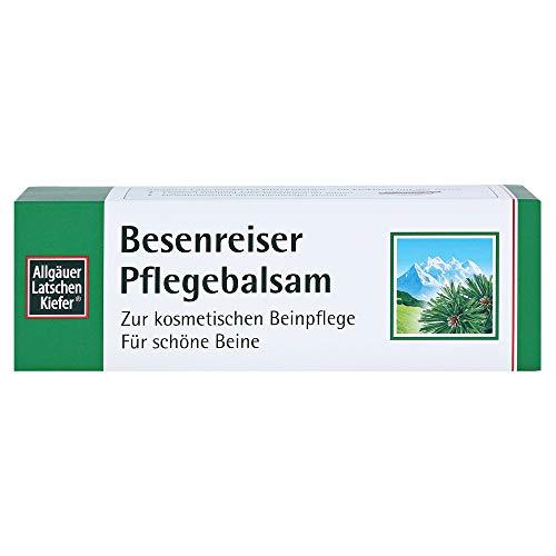 Dr. Theiss Naturwaren GmbH Allgäuer Latschenkiefer Besenreiser Pflegebalsam Creme, Farblos, 200 ml