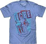 Tee Luv ICEE Polar Bear Logo T-Shirt (Light Blue Heather) (3XL)