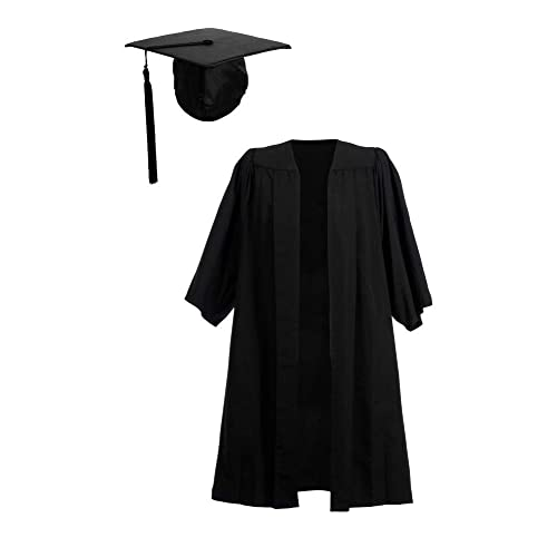 Ashington Gowns Graduation Gown and Cap 08db57162f2