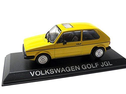VW Golf JGL, gelb, Modellauto, Fertigmodell, SpecialC.-75 1:43