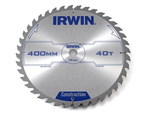 IRWIN 1897347 - Hoja de sierra circular 400 mm/40T