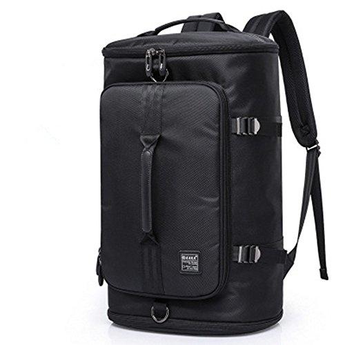 HXsports il tempo libero all'aperto lo zaino di borsa borsa da viaggio leggera tendenza di moda maschile sport ricreativi zaino borsa per computer,Nero vulcanico,