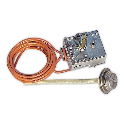 DOJA Industrial   Termostato 0/90° diámetro 24 mm compatible con LAVADORA ARISTON   Max 90° INDESIT, OTSEIN, BALAY, BAUCKNECHT