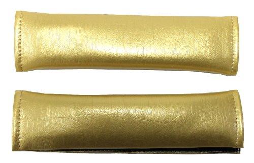 Aerzetix beschermhoezen voor riem, kunstleer, goudkleurig