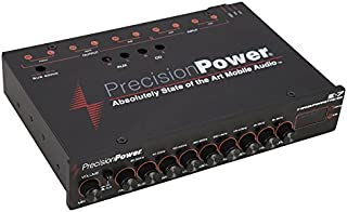 Precision Power E.7 1/2 DIN 7-Band Parametric Equalizer with LED Display
