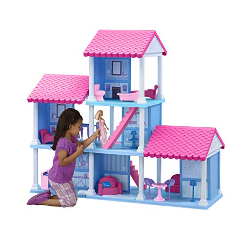 American Plastic Toys Fashion Doll Delightful Dollhouse