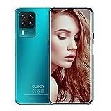 CUBOT X50 スマホ本体 SIMフリー 8GB/128GB Android 11スマートフォン本体 64MPリアカメラ 4G+グローバルバンド 6.67インチFHD+ 4500mAh バッテリー 顔認証 指紋認証 NFC GPS OTG WiFi (グリーン)