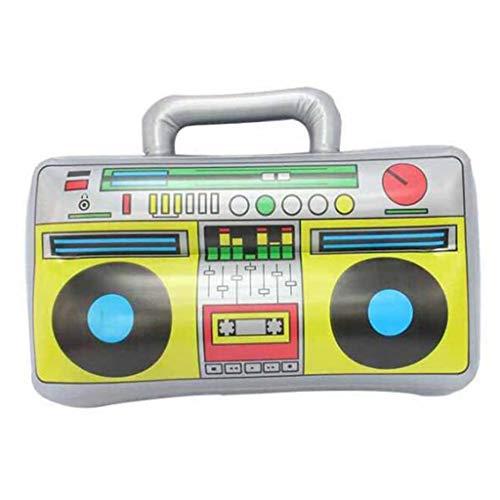 JOYKK Kids Classic Radio Palloncini gonfiabili in PVC Home Carnival Party Decor