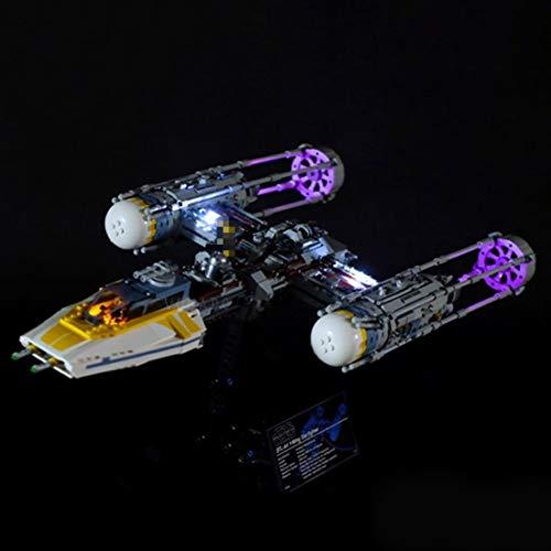 TETAKE Juego de iluminación LED para Lego 75181 – Y-Wing Starfighter (no incluye modelo Lego).