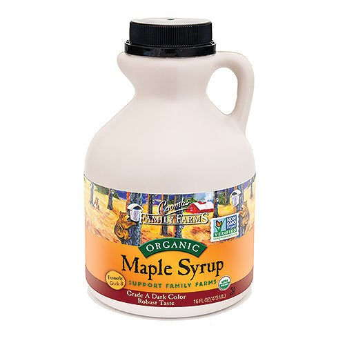 Maple Syrup Organic Grade A Dark Color Robust Taste 16 Fl Oz