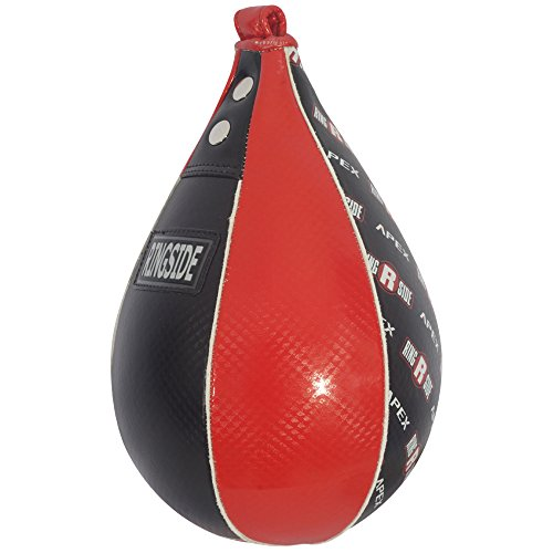 Ringside Apex Boxing Training Platform Speed Bag, X-Small, Red/Black