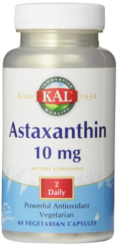 KAL Astaxanthin Capsules, 10 mg, 60 Count
