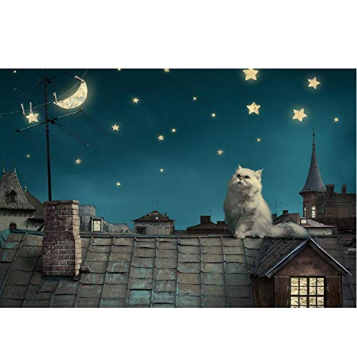 Chen Hao International Sales Store Abrir la Cremallera Garfield Cat The Wooden Puzzle 1000 Piezas ersion Paper Jigsaw Puzzle Tarjeta Blanca Juguetes educativos para niños Adultos