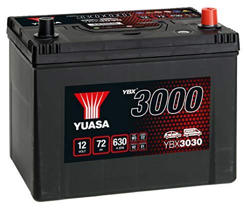 Yuasa YBX3030 Batería de coche SMF Starter recargable 12V 70Ah 570A