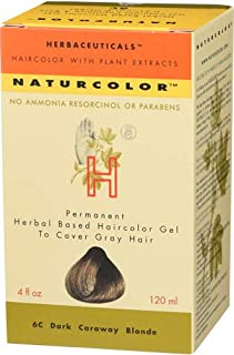 Naturcolor 6C Dark Caraway Blonde Hair Dyes, 4 Ounce