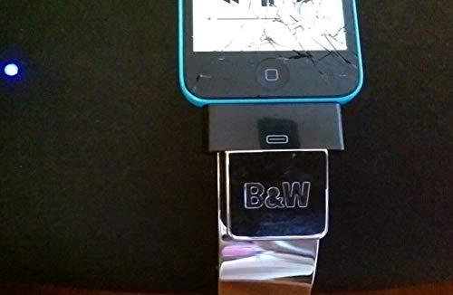 Adaptador Lightning a 30 Pin para B & W Zeppelin Base para Altavoz Classic y iPhone 5 5c
