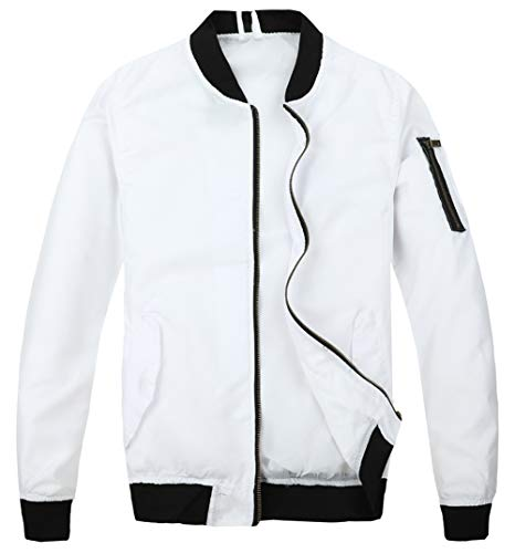 White Men's Jackets