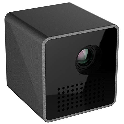 MHOLR Mini Hause HD-Projektor, Portable DLP Kleinen Home-Entertainment-Projektor, Beamer UNIC P1 + H WiFi Für Familie/Konferenz.