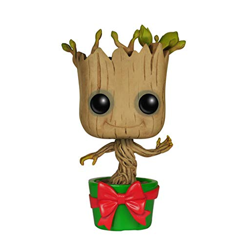 WangQ Modelo - Funko Pop! Marvel: Guardians O/T Galaxy - Holiday Dancing Groot /// (Color : A)