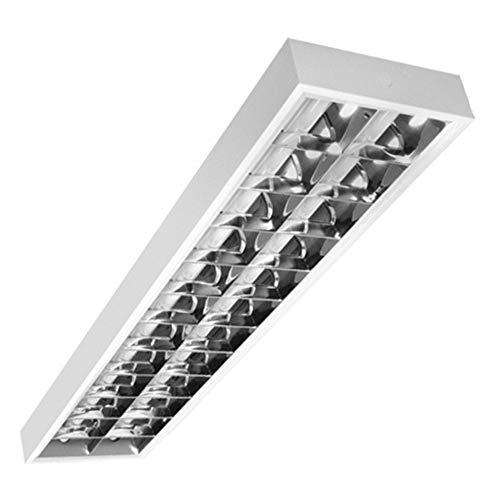 PureLed Rasterleuchte geeignet für 2x LED 120cm T8 Rasterlampe Bürolampe Deckenleuchte