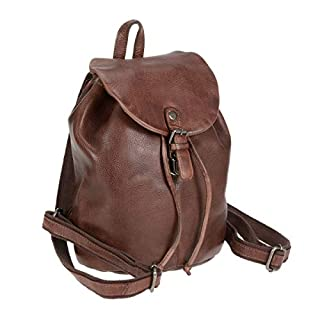 Greenburry Vintage Washed City Rucksack, Braun
